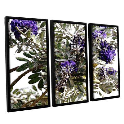 '1st Blooms of Spring 1' Graphic Art Print Multi-Piece Image on Canvas Size: 24