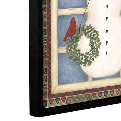 'Happy Holidays' Framed Painting Print on Canvas THLA1098 38997438