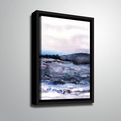 'Layer of Color 2' Framed Print on Canvas Size: 10