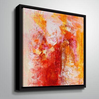 'Ethereal Sugar II' Framed Graphic Art Print on Canvas Size: 10
