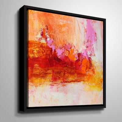 'Ethereal Sugar I' Framed Print on Canvas Size: 10