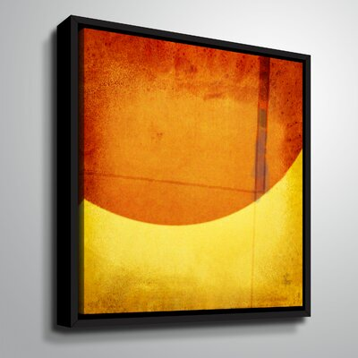 'Perpendicular Attraction' Framed Graphic Art Print on Canvas Size: 10