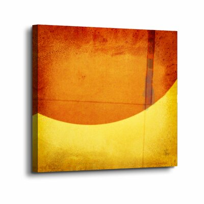 'Perpendicular Attraction' Graphic Art Print on Canvas Size: 10