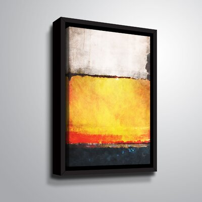 'Stigmatized' Framed Print on Canvas Size: 12