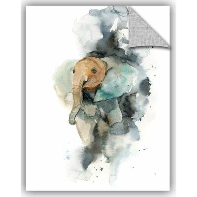 Cronan Baby Elephant Wall Decal Size: 18