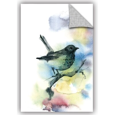 Cronan Bird Watch Wall Decal Size: 18