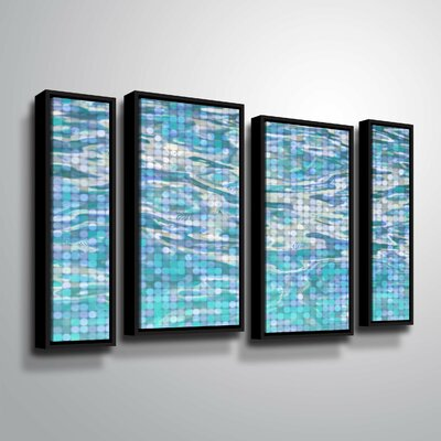 'Water Surface 23' Framed Graphic Art Print Multi-Piece Image Size: 24