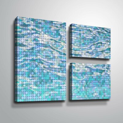 'Water Surface 23' Graphic Art Print Multi-Piece Image Format: Wrapped Canvas, Size: 24