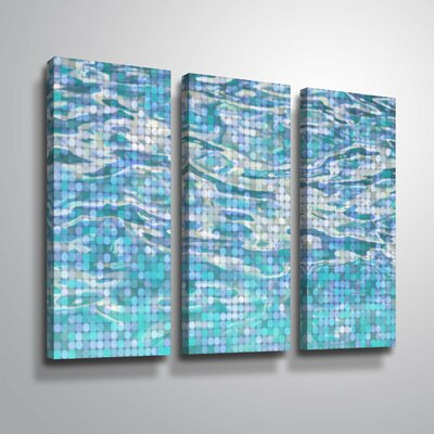 'Water Surface 23' Graphic Art Print Multi-Piece Image on Canvas Format: Wrapped Canvas, Size: 24