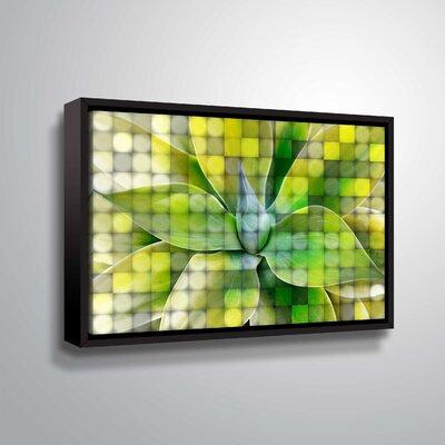 'Spring Succulent Symphony 7' Graphic Art Print Format: Black Framed, Size: 12