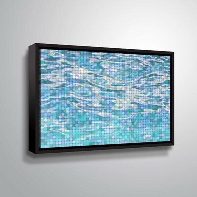 'Water Surface 23' Graphic Art Print Format: Black Framed, Size: 12