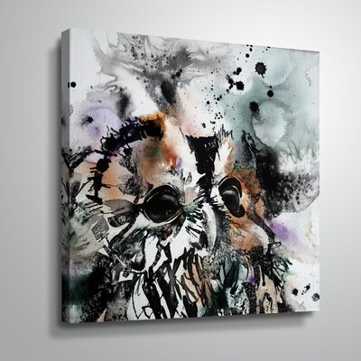 'Tawny 4' Print Format: Wrapped Canvas, Size: 10