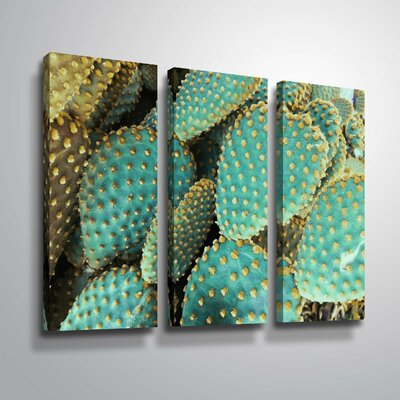 'Sunny Cactus 2' Photographic Print Multi-Piece Image on Canvas Format: Wrapped Canvas, Size: 24