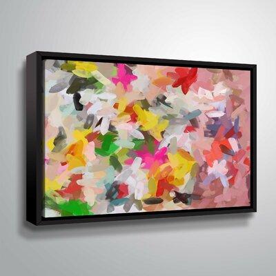 'Colorful Pallet IV' Print Format: Black Framed, Size: 14
