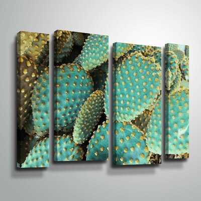 'Sunny Cactus 2' Photographic Print Multi-Piece Image on Wrapped Canvas Format: Wrapped Canvas, Size: 24