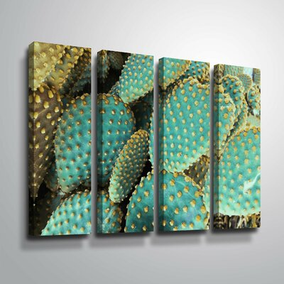 'Sunny Cactus 2' Rectangle Photographic Print Multi-Piece Image on Canvas Format: Wrapped Canvas, Size: 24
