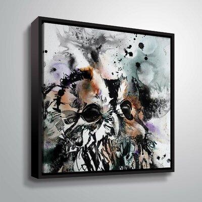 'Tawny 4' Print Format: Black Framed, Size: 10