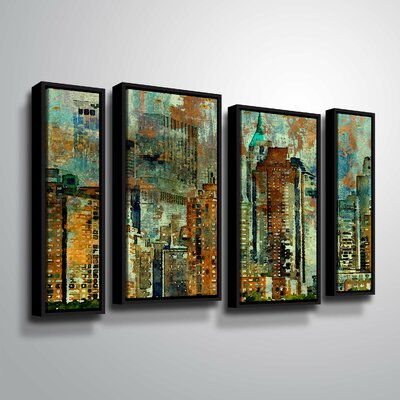 'Colorful New York' Graphic Art Print Multi-Piece Image Size: 24
