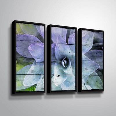 'Purple Perfection' Graphic Art Print Multi-Piece Image Format: Black Framed, Size: 24