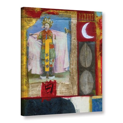 Chinese Moon Queen by Elena Ray Painting Print on Wrapped Canvas 0ray065a0810w