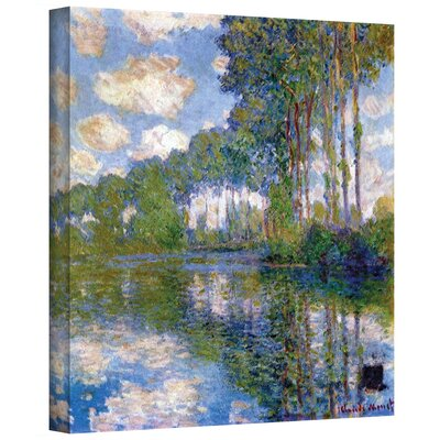 'Trees' by Claude Monet Painting Print on Canvas Size: 10