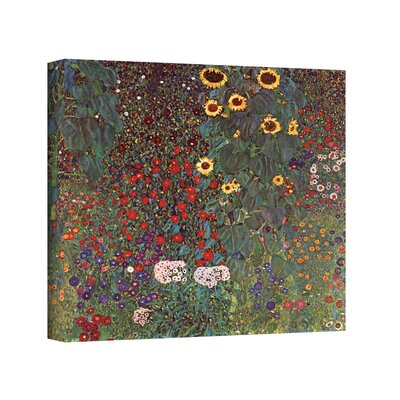 'Sunflower Grade' by Gustav Klimt Painting Print on Canvas Size: 10