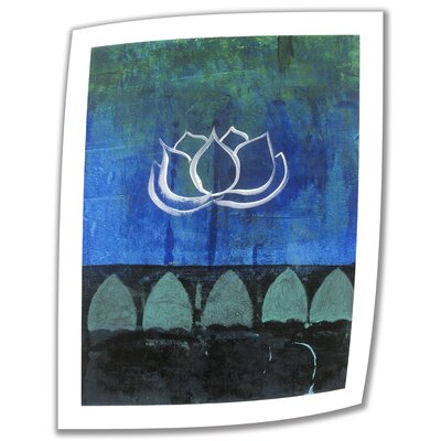 "Lotus Blossom' by Elena Ray Vintage Advertisement on Rolled Canvas Size: 18"" H x 14"" W ERay-006-18x14"