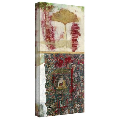 'Medicine Buddha' by Elena Ray Graphic Art on Wrapped Canvas ERay-003-36x14-w