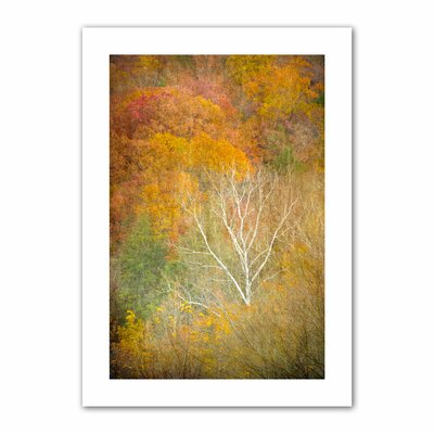 "In Autumn' by Antonio Raggio Photographic Print on Rolled Canvas Size: 52"" H x 36"" W DLK-032-48x32"