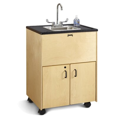 Clean Hands Helper Portable 23.5 x 28.5 Single Handwash Station