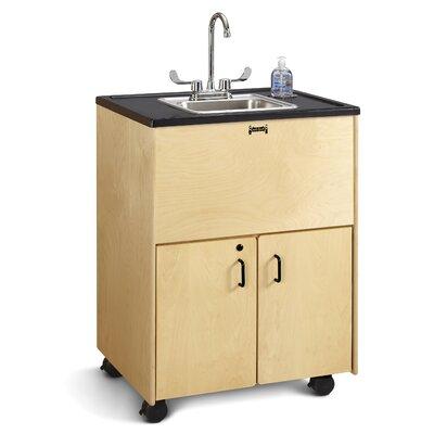 Clean Hands Helper Portable 23.5 x 28.5 Single Handwash Station