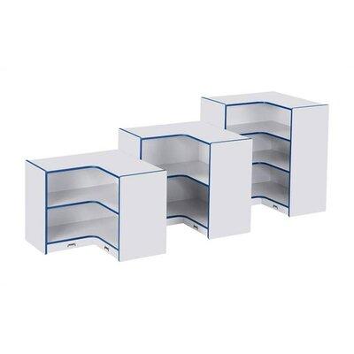 Rainbow Accents KYDZ Rectangular Corner Storage Trim Color: Blue, Size: 29.5