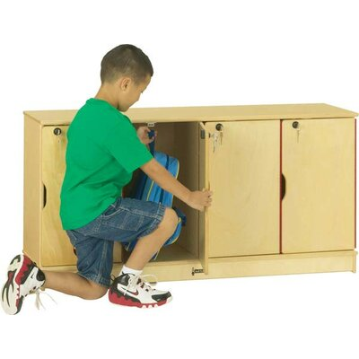 Jonti-Craft 4-Sections Stacking Lockable Lockers 4688JC