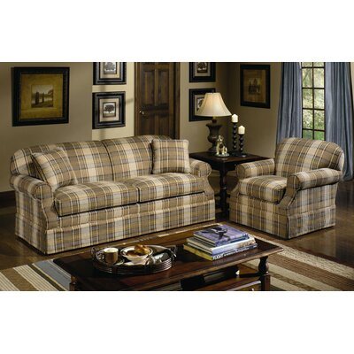 Craftmaster Stickley Sofa and Chair Set (2 Pieces)