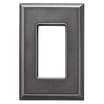 Classic Magnetic Single GFCI Wall Plate Finish: Wrought Iron