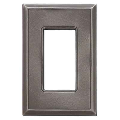 Classic Magnetic Single GFCI Wall Plate Finish: Classic Nickel Silver