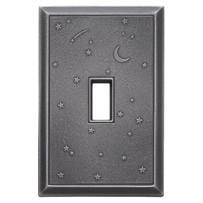 Deco Night Sky Magnetic Single Toggle Wall Plate