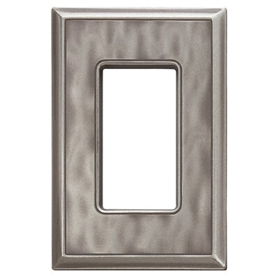 Classic Magnetic Single GFCI Wall Plate Finish: Water Classic Nickel Silver