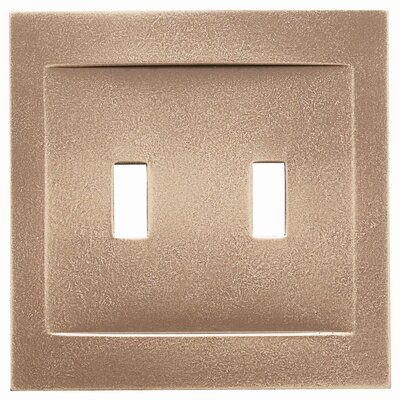 Double Toggle Magnetic Wall Plate Finish: Classic Bronze