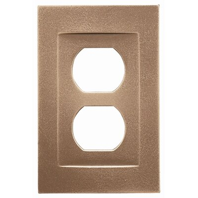 Single Duplex Magnetic Wall Plate Finish: Classic Bronze