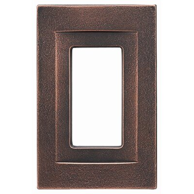 Single GFCI Magnetic Wall Plate Finish: Oil Rubbed Bronze
