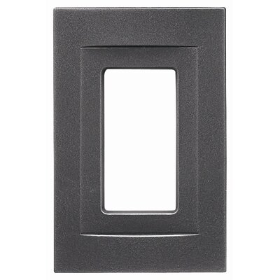 Single GFCI Magnetic Wall Plate Finish: Wrought Iron