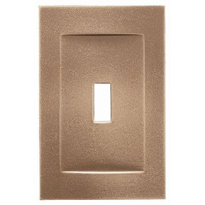 Single Toggle Magnetic Wall Plate Finish: Classic Bronze