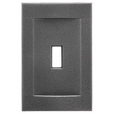 Single Toggle Magnetic Wall Plate Finish: Wrought Iron