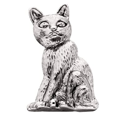 Cat Sitting Individual Dog Magnet
