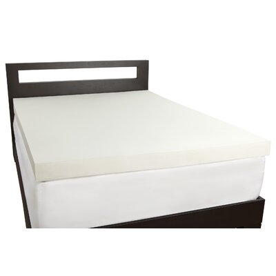 4 Memory Foam Topper Size: King