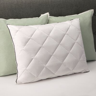 Plush Quilted Down Standard Pillow