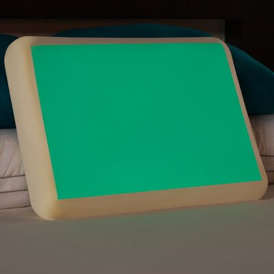 Glow in the Dark Memory Foam Gel Fiber Standard Pillow