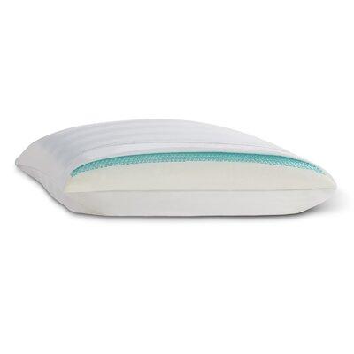 Cooling Memory Foam Gel and Fiber Standard Pillow