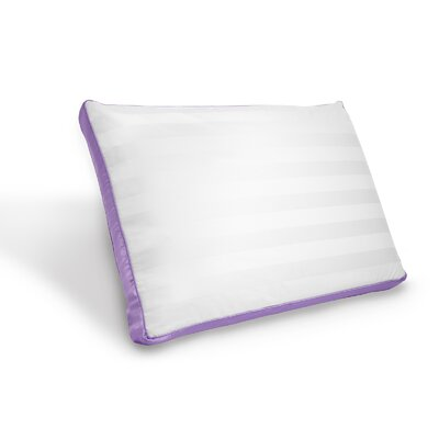 Scented Bed Memory Foam Standard Pillow Color: Lavender